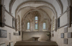 Interior of the church Ewenny Priory (CD26)